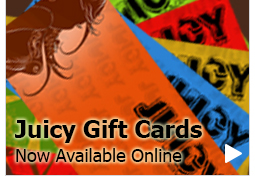 Gift Cards from Juicy Detailing