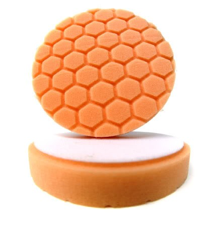 "5.5"" Hex Logic Pad Orange Medium-Heavy Cut"