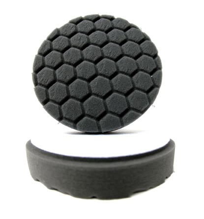 "5.5"" Hex Logic Pad Black Finishing Pad"