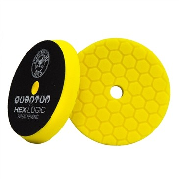 "5.5"" Hex Logic Quantum Heavy Cutting Pad Yellow"