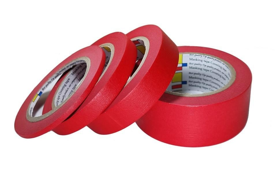 CarPro Low Tack Masking Tape 48mm Red