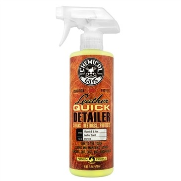 Chemical Guys Leather Quick Detailer, Matte Finish Leather Care Spray 500ml