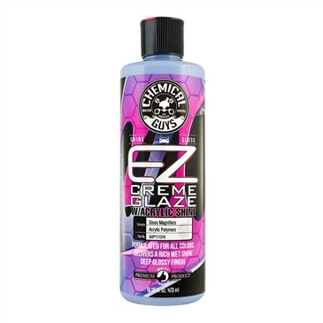 Chemical Guys EZ Creme Glaze Rich Wet Finish With Acrylic Shine 16oz