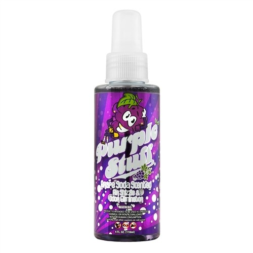 Chemical Guys Purple Stuff Grape Soda Scent Air Freshener 4oz
