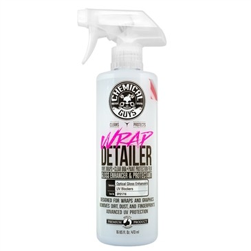 Chemical Guys Wrap Detailer Gloss Enhancer & Protectant for Vinyl Wraps 16oz