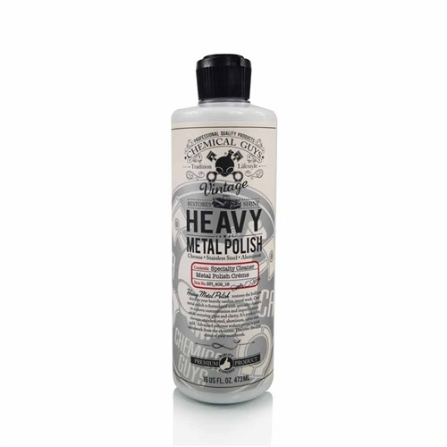 "Chemical Guys ""Vintage"" HEAVY Metal Polish 16oz"