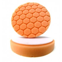 "4.0"" Hex Logic Pad Orange Medium-Heavy Cut Pad"
