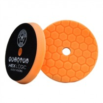 "5.5"" Hex Logic Quantum Medium Heavy Cutting Pad Orange"