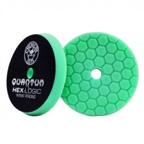 "5.5"" Hex Logic Quantum Heavy Polishing Pad Green"