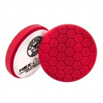 "5.5"" Hex Logic Pad Red Ultra Light Finishing Pad"