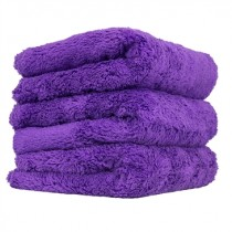 "Chemical Guys Happy Ending Edgeless Microfibre Towel 3 Pack PURPLE (16x16"")"