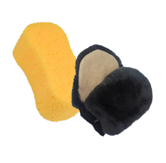 Yellow sponge vs lambswool wash mitt